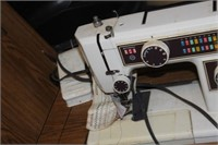 Dress Maker Sewing Machine with Cabinet