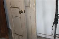 2 Antique Wooden Doors17.5 & 18.5
