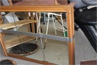 Oak Hanging Cabinet,48x34 tall