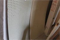 8 Sheets of Peg Board