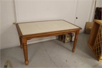 Tile Top Dining Table