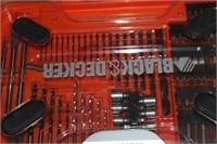 Black & Decker Drill Bit Set in Hard Case