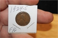 1924 S Wheat Penny