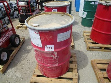 1) 55-GALLON MALLEUS OPEN GEAR & WIRE ROPE GREASE Other ... on