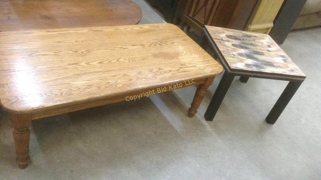 Tremendous Ikea Black End Table Solid Wood Coffee Table Bid Kato Cjindustries Chair Design For Home Cjindustriesco