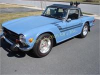 Online-Only 1974 Triumph Auction