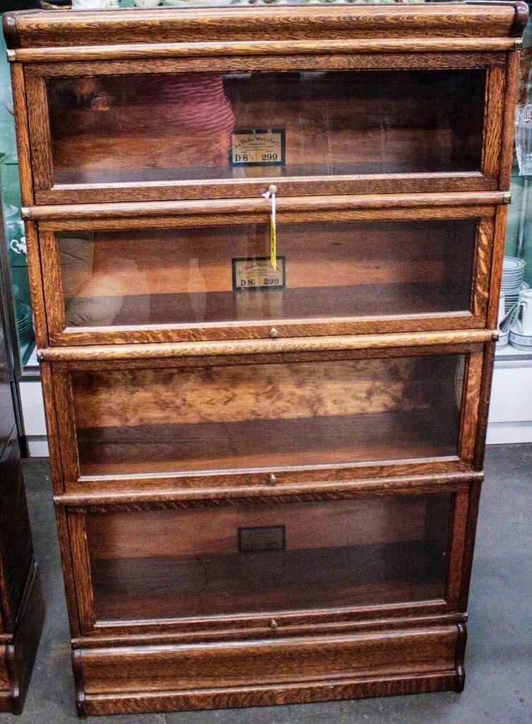 Furniture Globe Wernicke Stack Barrister Bookcase Hibid