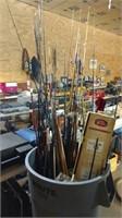 uncataloged fishing equipment