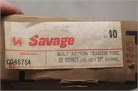 Savage 340 C046754 Rifle  22 Hornet | Smith Sales LLC