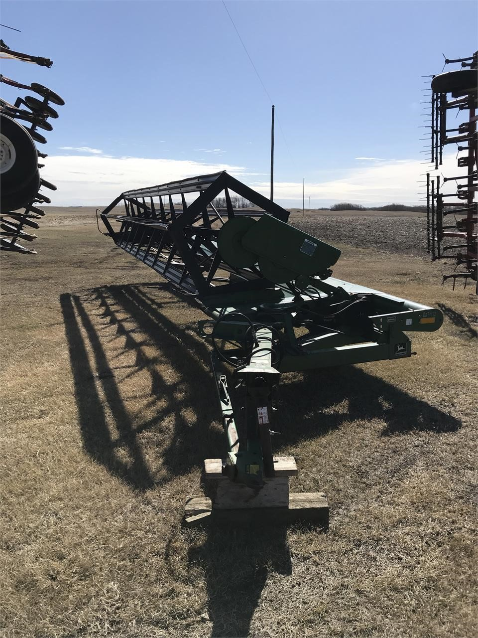 John Deere 590 Pull Type Swather, 30ft | Double R Auctioneering and