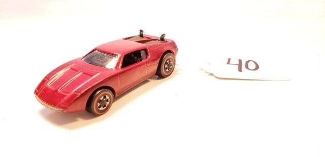 Hot Wheels 1970 AMX/2 Red Mattel USA | Auction America, Inc