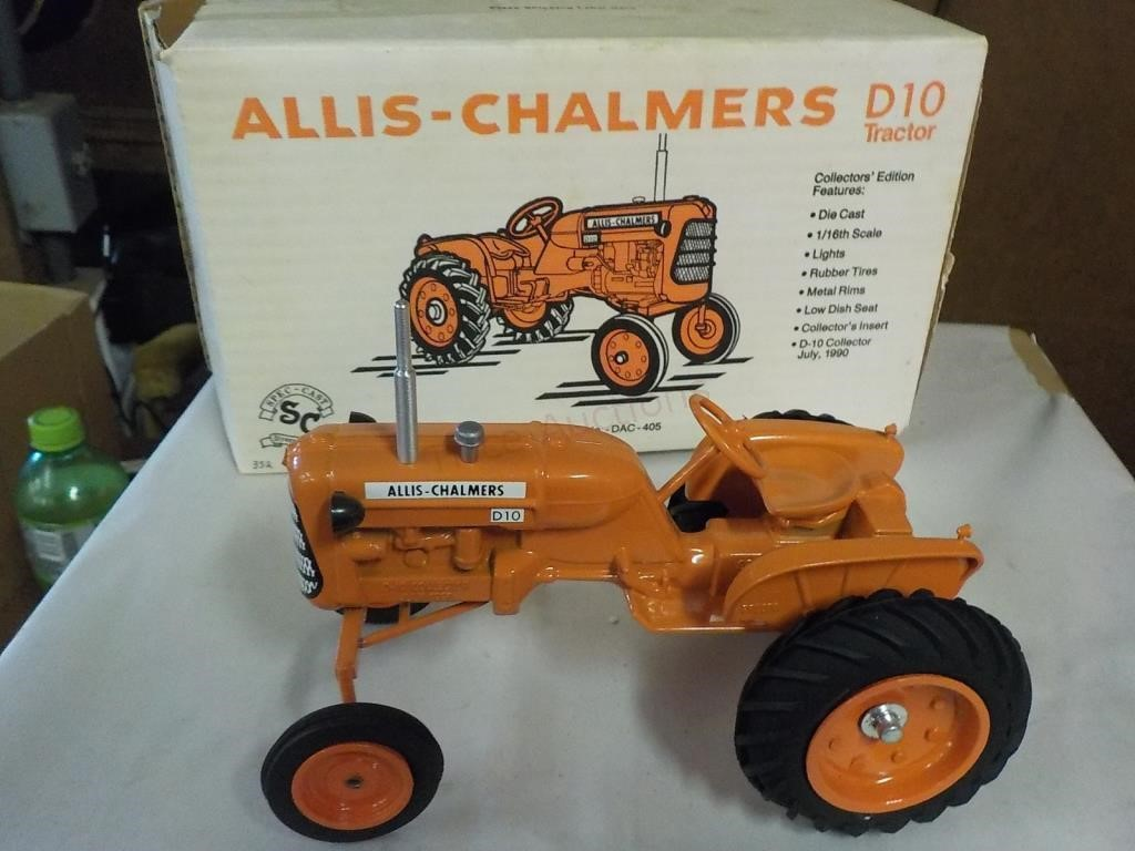 1/16 ALLIS -CHALMERS D10 TRACTOR COLLECTOR 1990 | Trice Auctions