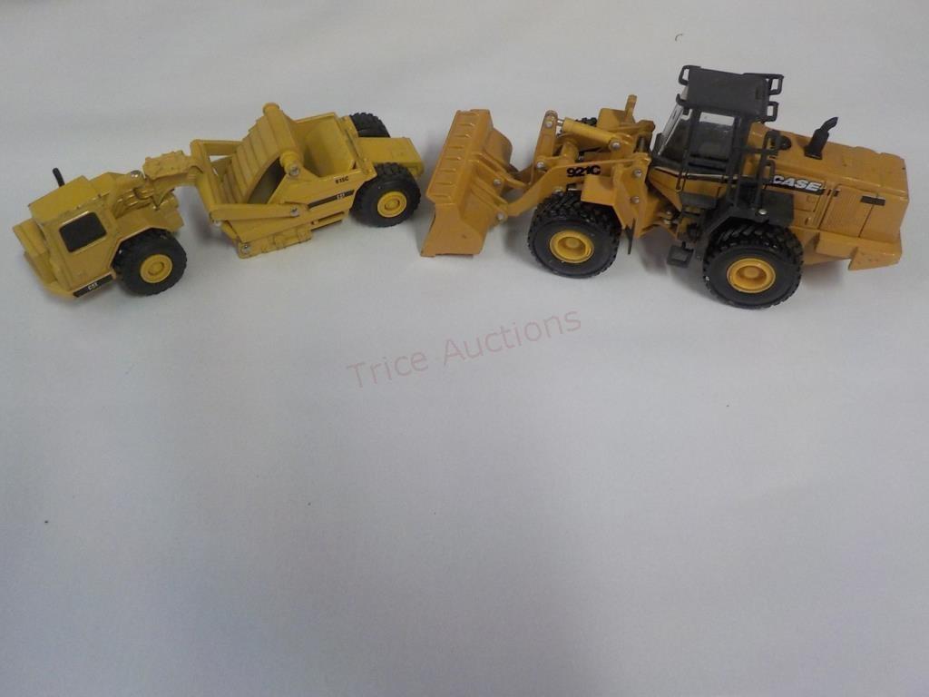 1/64 CAT 613 C AND CASE 921 C | Trice Auctions