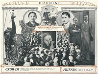 Houdini, Harry. 1925 Pitchbook from his Collection
