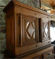 18th Century Quebec Diamond Point Buffet