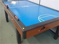 Eb45 Shelti Blue Line Air Hockey Table Michigan Online
