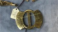 10 Art Nouveau Deco Vintage & Other Pins