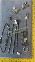 5 + Piece Rhinestone Necklaces Bracelets & Other