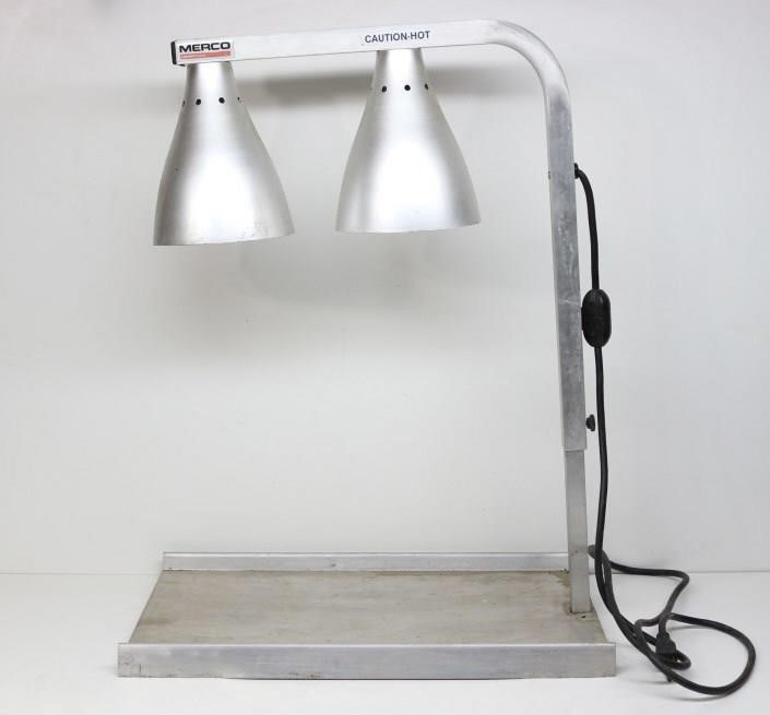 Merco Electric Dual Heat Lamp Food Warmer Idaho Auction Barn