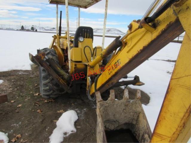 Case 480 Construction King Backhoe   JBS AUCTIONS