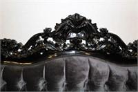 """Belle de Fleur Sofa, Leather, 75"""" Long"""