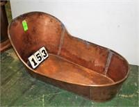 """Copper Bathtub, Approx. 55"""" Long"""