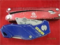 Utility and Pocket Knives