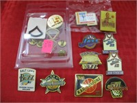 Basketball, Army and Olympic Pins
