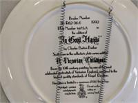6) Decorative Plates; Germany, Bavaria, Norcrest,