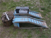 Car Ramps, Oiler and Cable Chains