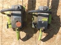 2 Poulan Chain Saws