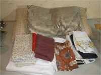 Feather Pillows, Pillowcases, Sheets