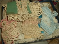 Thread, Vintage Lace, Buttons, Sewing Notions