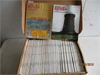 3) Boxes of Vinyl Records