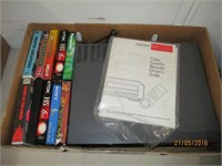 Roll Top Video Cassette Cabinet, VHS Tapes