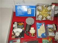 Fan Light Kit, Socket Pocket, Light Switches