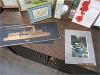 Posters, Pictures, Copper Etched Pictures