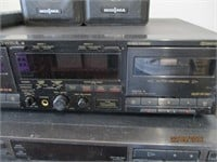 CD and Cassette Players, Speakers