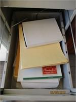 Filing Cabinet, Folders, Envelopes