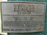 Billy the Kid and Idaho Belt Buckles