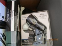 Lamps, Audio / Video Switch, iRig Mic, Disk Clips,