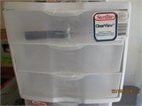 Plastic Drawers with Contents