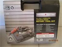 Rotary Tool Kit, Buffing Pad, Brushes, Grinders