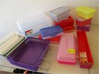 Metal and Plastic Organizers