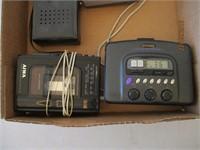 Cassette Players, Portable Radios