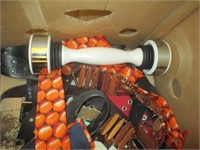 Shake Weight, Ties, Hat, Baskets, Picture Frames