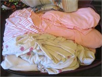 Suitcase with Blankets