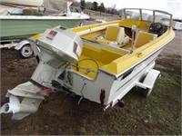 1972 Larson Boat w/ Trailer
