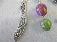 Dragon Bookmark, Bracelet & Earrings