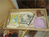 Yellow Terri Lee Collection Box